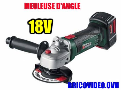 Ponceuse d'angle parkside
