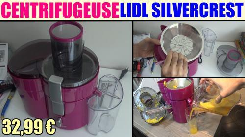 Extracteur de jus lidl silvercrest ssj 150 a1 test avis prix montage caractEristiques accessoires